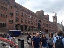 Dworzec Amsterdam Zdjęcia Stock