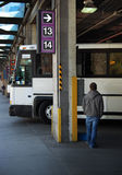 dworzec autobusowy Zdjęcie Royalty Free