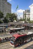 Dworzec Autobusowy Obraz Royalty Free
