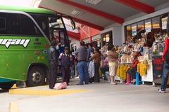 Dworzec Autobusowy w Banos, Ekwador Zdjęcie Stock