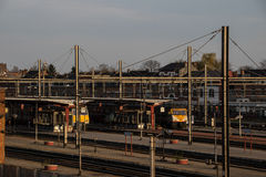 Dworzec Hasselt, Belgia Zdjęcia Stock