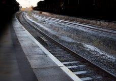 Dworzec platforma zdjęcia stock