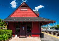 Dworzec w Brunswick, MD Zdjęcia Royalty Free