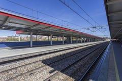 Dworzec w Hiszpania Obrazy Stock