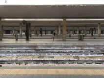 Dworzec w Włochy obraz royalty free