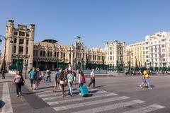 Dworzec w Walencja, Hiszpania Obraz Stock