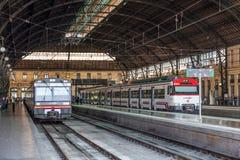 Dworzec w Walencja, Hiszpania Fotografia Royalty Free