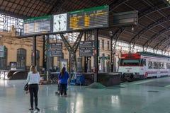 Dworzec w Walencja, Hiszpania Obraz Royalty Free