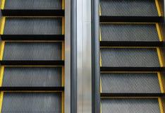 Dwudrogowy eskalator Zdjęcia Stock