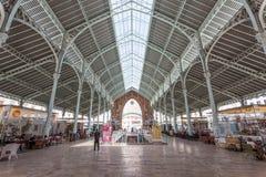 Dwukropka rynek w Walencja, Hiszpania Zdjęcie Royalty Free