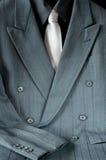 Dwurzędowy kostium i krawat Fotografia Stock