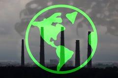 Dwutlenek Węgla chmura zdjęcie royalty free