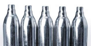 dwutlenek węgla cylindrów Zdjęcia Royalty Free