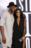 Dwyane Wade and Gabrielle Union Royalty Free Stock Photo