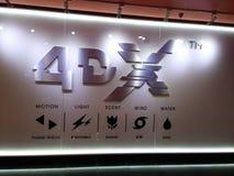 4dx embleem Stock Afbeeldingen