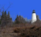 Dyce Hauptleuchtturm, Castine Maine Lizenzfreies Stockbild