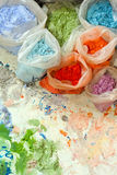 Dye colors Stock Photo