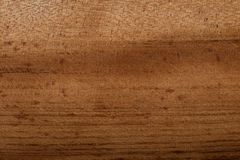 Dyed brown wood for background. Dyed, brown, and smoothly finished wood for background or wallpaper royalty free stock photo