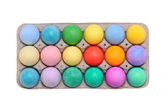 Dyed Easter Eggs Royalty Free Stock Image