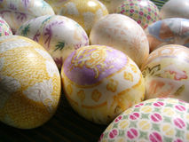 Dyed Eggs Stock Images