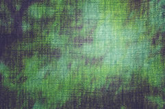Dyed fabric sunny forest Stock Photography