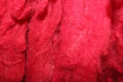 Dyed sheep wool royalty free stock photo