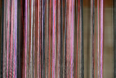 Dyed threads for needlework Stock Photography