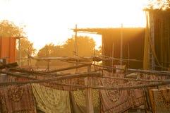 Dyeing Works,Sanganer,Jaipur royalty free stock image