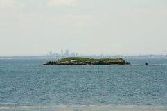 Dyer νησί σε Rottnest Στοκ Φωτογραφία