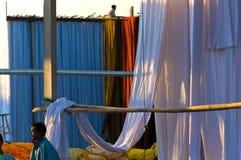 Dye House,Sanganer,Jaipur stock images