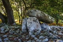 Dyffryn Ardudwy墓室 库存图片