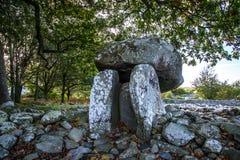 Dyffryn Ardudwy burial chamber Stock Photo