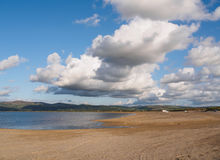 Dyfi Estuary and Clouds. Royalty Free Stock Images