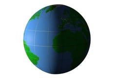 Dygnet runt på jord Arkivbild