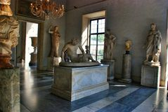 Dying Gaul. Museum Capitoline Stock Photo