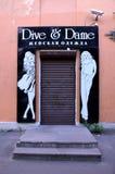 Dyk & Dame arkivfoto