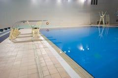 dyka olympic plattformar Arkivbild