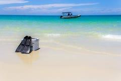 Dyka på havet Fotografering för Bildbyråer