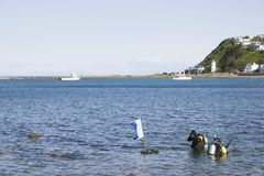 dyka scuba 02 Royaltyfria Bilder