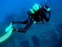 dykare arkivbilder