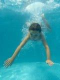 dykning Royaltyfria Foton