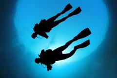 dykningscuba Fotografering för Bildbyråer