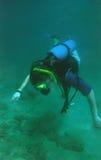 dykningscuba Royaltyfri Fotografi