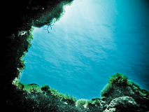 dykningscuba Arkivbild