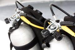 dykningutrustning Arkivbild