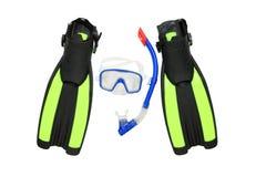 dykningutrustning Royaltyfria Foton