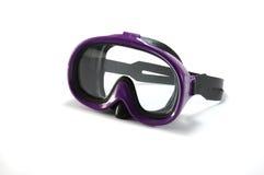 dykningutrustningmaskering som snorkeling Fotografering för Bildbyråer