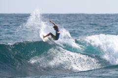 dylan grób pro surfingowiec obraz stock