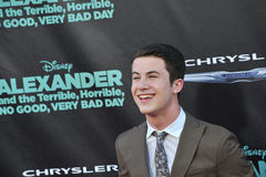Dylan Minnette Royalty Free Stock Photo