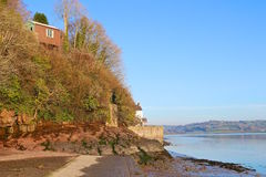 Dylan Thomas boathouse and writing shed, Laugharne Royalty Free Stock Photos